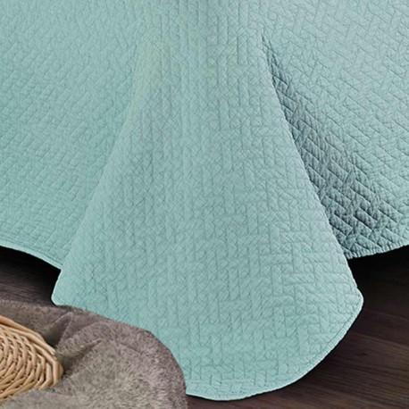 Colcha Bouti Stonewash Verde Tiffany 240x270 Tramasmascom