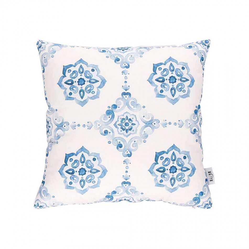 Pack 2 pezzi - Fodera cuscino Tropical Azulejo fodera-di-cuscini-stampati