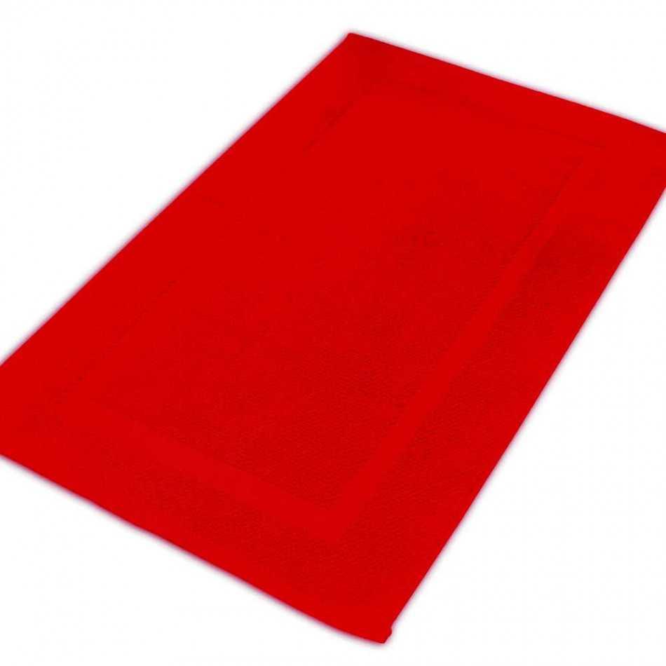 Tappetino per il bagno 870gr Rosso tappetini-per-il-bagno