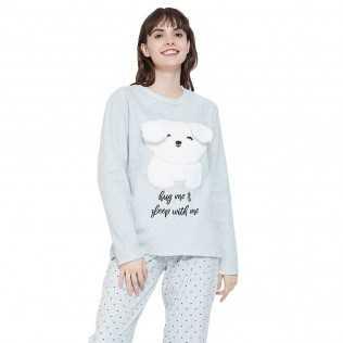 Pigiama polar Koala perla