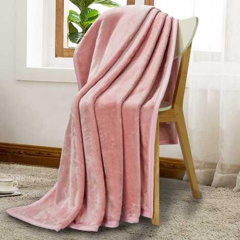 Coperta Velluto rosa chiaro 500gr coperte-velluto