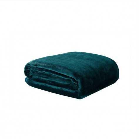 Coperta divano Velluto Verde Bottiglia coperte-velluto