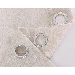 Tenda semitraslucida Matilda Sabbia trasparente