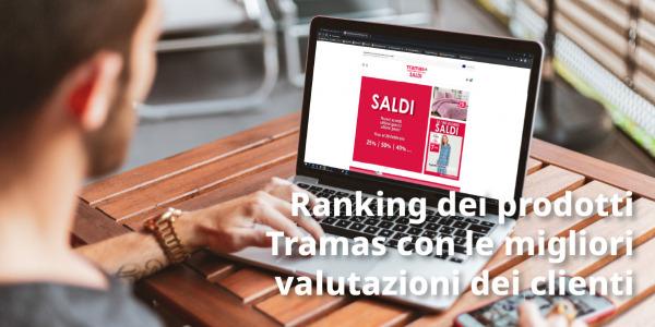 Ranking dei prodotti Tramas con le migliori valutazioni dei clienti