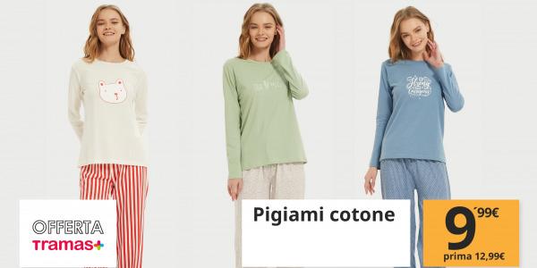 Nuova promozione: pigiami in cotone al miglior prezzo