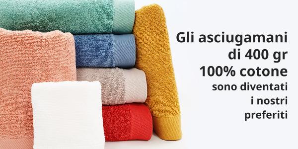 Perché gli asciugamani di spugna di cotone da 400 gr sono i nostri preferiti?