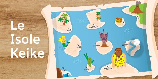 Nuova collezione Isole Keike
