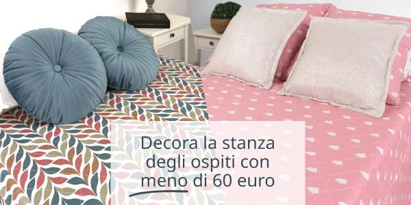 Decora la stanza degli ospiti con meno di 60 euro